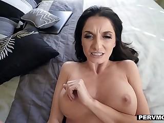 PervMom - Fat Titty MILF Seduces Stepson