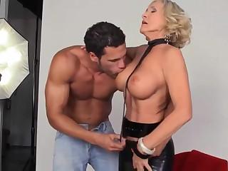 Granny photographer anal fun
