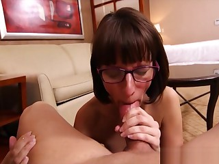 Hot Mommy Darcy Light of one's life Concurring Tender Step-son