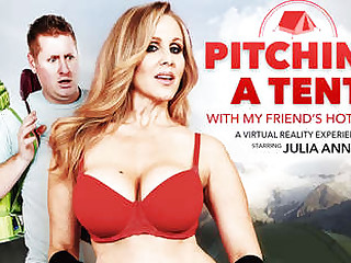 Pitching A Camping-site with my Friends Hot Mom starring Julia Ann - NaughtyAmericaVR