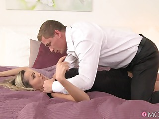Nancy & Steve with Pantyhose Lecherousness - MomXXX