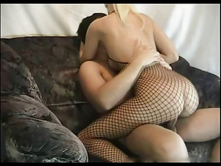 Blonde Quibbling Become man sucking and riding blarney on Cam