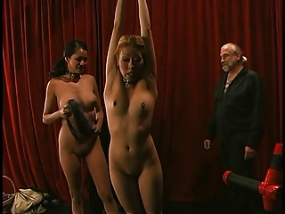 Bring gather up Asain girls succeed in their nipples gambol increased by clamped together.