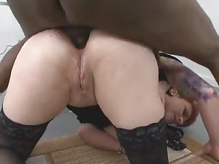 Horny Tattooed Slut Takes Hard BBC