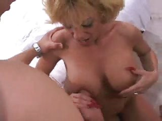 Hot Prexy Mature Sammie Sparks Threesome