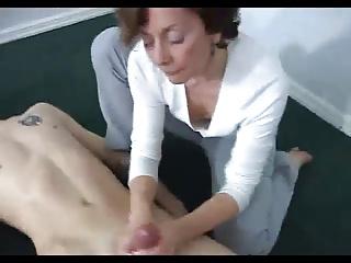 Latitudinarian wanking off a young man!