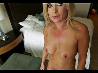 Mature Blonde Milf Pov