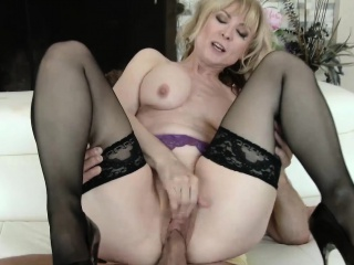 MommyBB Real Grown-up Unladylike fucking her STEPSON