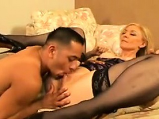Grown-up Blonde Squirter Wants A Young Mendicant